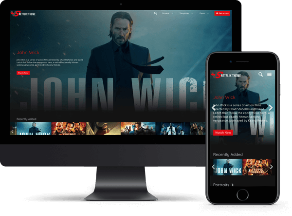 Video Subscription Netflix Theme