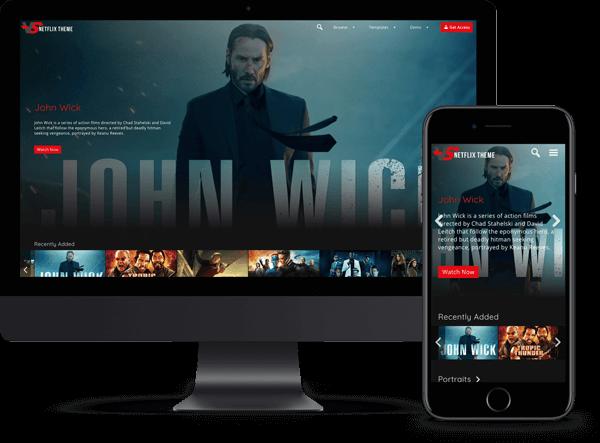 Video Subscription Netflix Theme